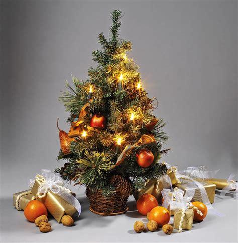 Weihnachtsbaum Mit Led Beleuchtung Brauns Heitmann Weihnachtsbaum 45 Cm Mit 10 Teilig