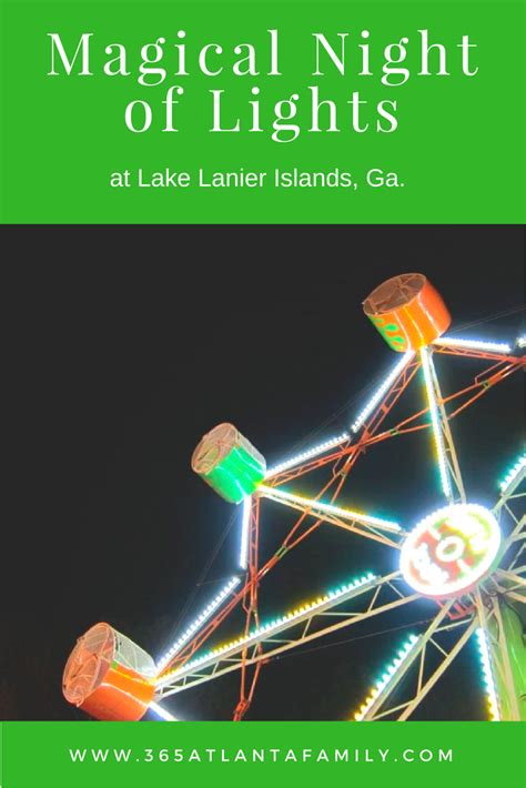 lake lanier lights a magical of shimmering