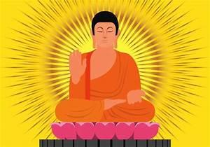 Buddha Bilder Kostenlos : buddha in protection position illustration download free vector art stock graphics images ~ Watch28wear.com Haus und Dekorationen