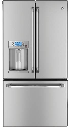 foodista ge cafe   refrigerator  dispense hot water