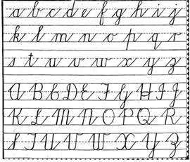 handwriting worksheet maker for kindergarten should cursive handwriting be mandatory 100 classics challenge