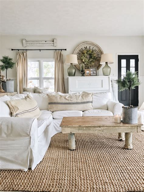 Living Room Decor by Back Living Room The Beginning Farmhouse