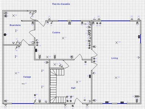 plan electrique chambre maison nathalie et alban préparation dossier électrique