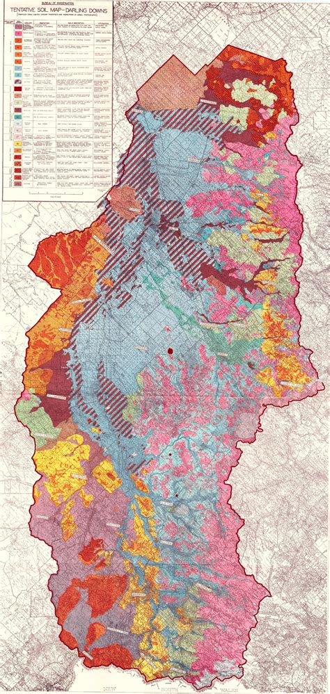 darling downs soil map  queensland historical atlas