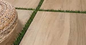 Carrelage Exterieur Epaisseur 2 Cm : dalle aequa tur carrelage ext rieur 2 cm marron effet bois carra france ~ Carolinahurricanesstore.com Idées de Décoration