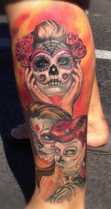de los muertos tattoo design ideas pictures