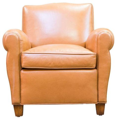 sold out caramel leather club chair 1 499 est retail