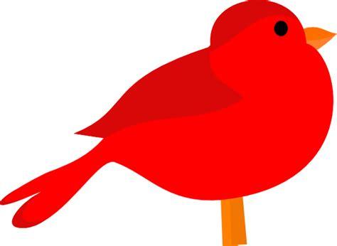 Red Bird Clip Art At Clker.com