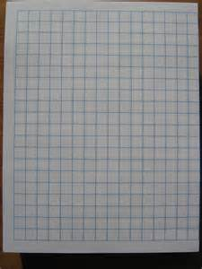 1 X 1 Graph Paper Template 8.5 X 11