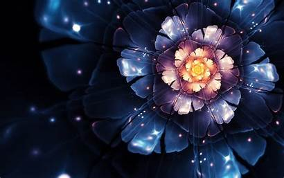 4k 3d Abstract Flower Wallpapers Wide