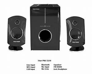 Speaker Aktif Polytron Pma 5210 Bluetooth Terbaru