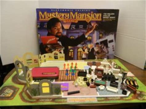 electronic talking mystery mansion board game review