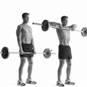 Upright Barbell Rows ~ Acces Builder