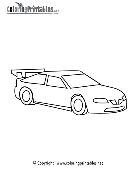 racing car coloring page   sports coloring printable