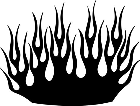 Sea of Flames Stencil, Stencils & Die Cuts,Reusable Plastic, by Stencil Ease