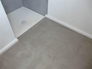 Boden Für Bad : wand wohndesign beton cire beton floor ~ Lizthompson.info Haus und Dekorationen