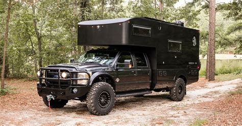 rugged  road camper sports  surprisingly fancy