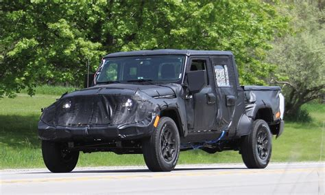jeep wrangler truck jeep wrangler pickup spotted