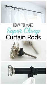 Add, Style, To, Cheap, Curtain, Rods, With, Diy, Finials