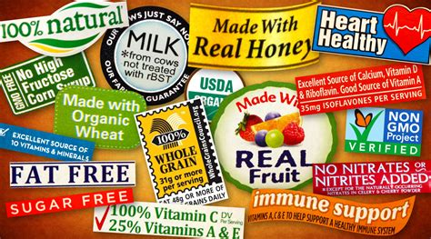label cuisine demystifying health food labels what do they all