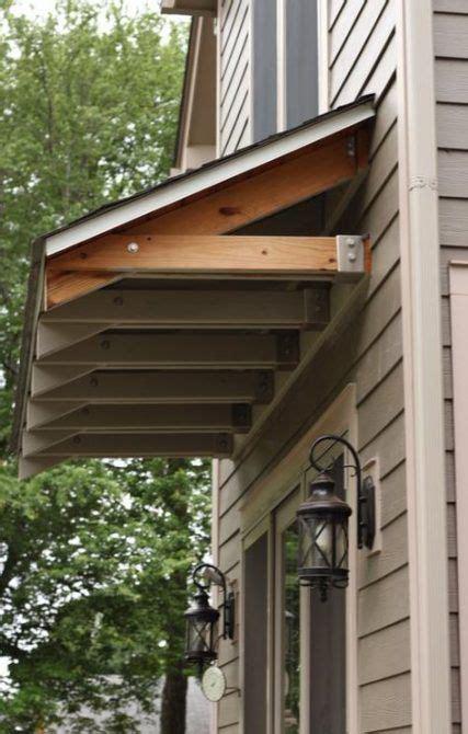 pergola garage window awnings  ideas door overhang house exterior diy awning