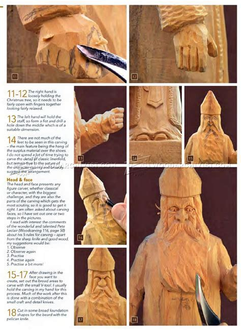 Carving St Nicholas   Wood Carving Patterns ? WoodArchivist