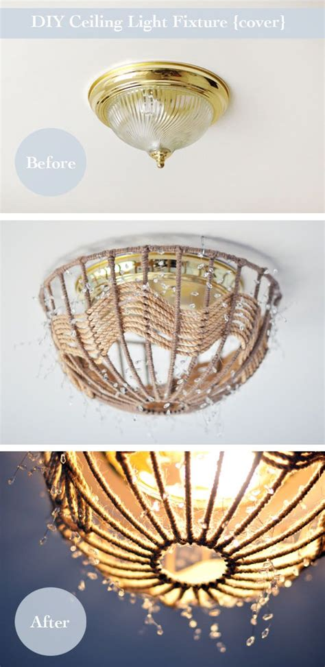 25 best ideas about ceiling light diy on
