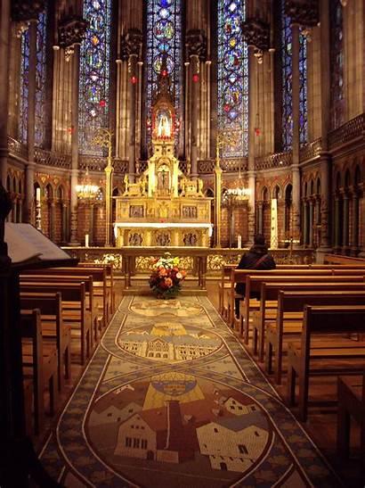 Dame Notre Paris Inside France Lille Church