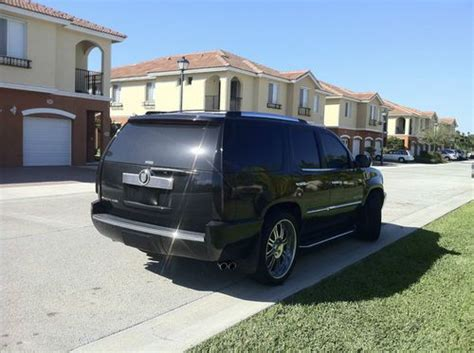 Buy Used Custom 2007 Cadillac Escalade Sound System Asanti