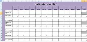 get sales action plan template xls excel project With sales manager action plan template