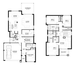 two story house floor plans 2 storey modern house design with floor plan modern house
