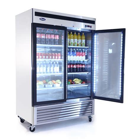 refrigerator with glass door mcf8707 bottom mount 2 two glass door refrigerator