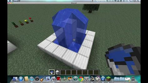 faire une fontaine cuisine tuto minecraft faire une fontaine simple