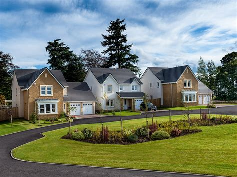 New 4bedroom Homes For Sale In Auchterarder  The