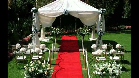cheap outdoor wedding ideas design decoration ilcebasa youtube