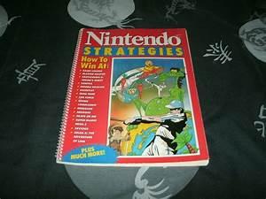 Nintendo Strategies Guide Book For Nes Games