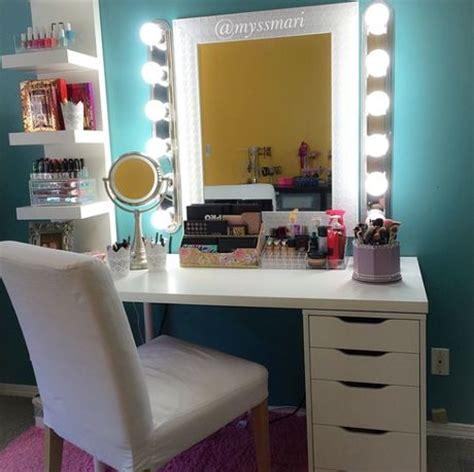 bureau maquilleuse les 25 meilleures idées de la catégorie meuble maquillage