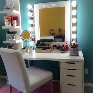Meuble De Maquillage : les 25 meilleures id es de la cat gorie meuble maquillage sur pinterest meuble rangement ~ Teatrodelosmanantiales.com Idées de Décoration