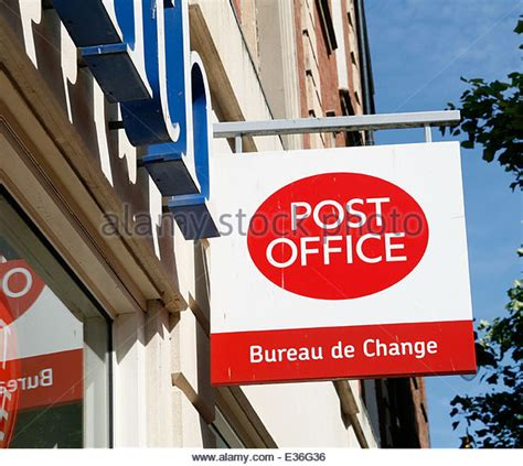 bureau de change 5 post office logo stock photos post office logo stock