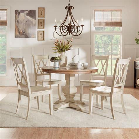homesullivan sawyer  piece antique white mission  dining