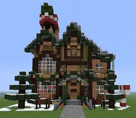 small christmas buildings pack minecraft project