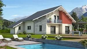 plan de maison moderne mont revard plan maison gratuit With maison simple et moderne