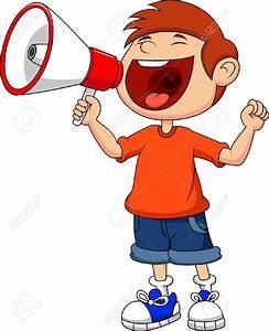 Person Yelling Clipart - ClipartXtras