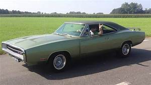 Triple Green 1970 Dodge Charger R  T Se Six Pack