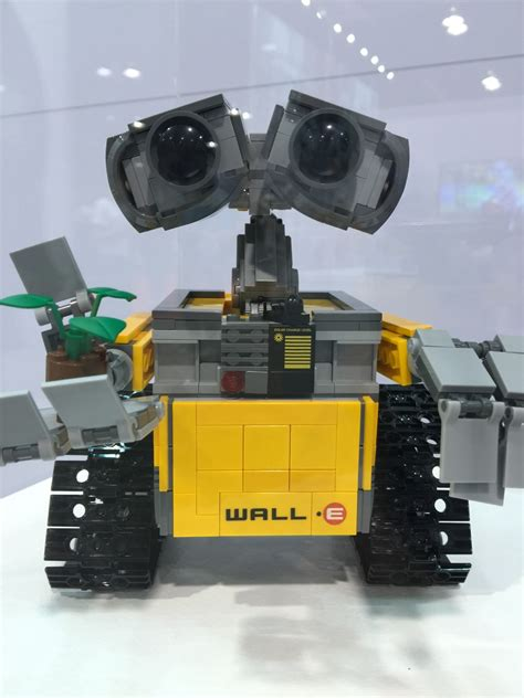 lego ideas news   pictures  lego walle