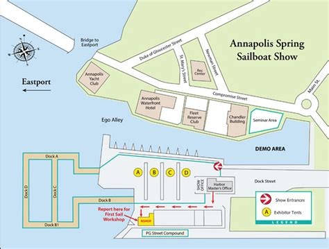 Annapolis Sailboat Show Layout show layout 2017 annapolis boat shows