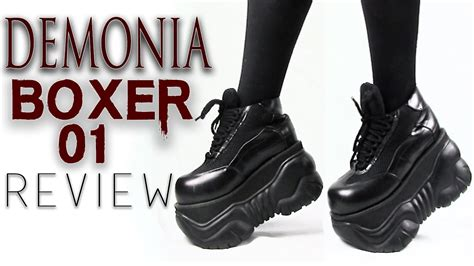 Demonia Boxer-01 Platform Sneakers Review