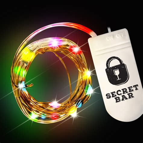 multicolor led light multi color led string lights light up novelties