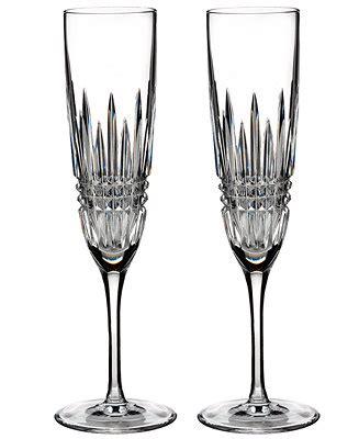 2789 chagne flute set waterford stemware lismore flutes set of 2