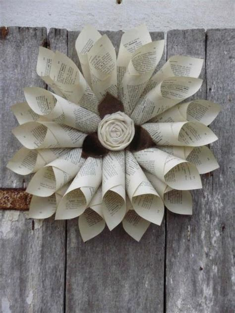 recycling  paper  home decor  creative craft